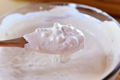 Blue Cheese Dressing : Ree Drummond / The Pioneer Woman The Pioneer Woman, Pioneer Woman Recipes, Pioneer Women, Ree Drummond, Sour Cream, Food Network Recipes, Cooking Recipes, What's Cooking, Blue Cheese Salad
