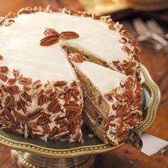 Favorite Italian Cream Cake Recipe | Taste of Home Recipes
