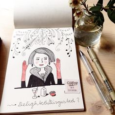 Nun überlege ich auch etwas zu fasten wahrscheinlich Fleisch. Und ihr? . . . . #illustration #illustrationoftheday  #morningcoffee #morningdoodle #coffeelove #handlettering #drawing  #typography  #draweveryday #instaartist  #illustratorsofinstagram #art_we_inspire #quiettime #relaxationtime #peaceful #relaxing #mindfulnessmatters #inspiration #makersmovement  #simplepleasure #slowlivingforlife #bookworm #berlinillustration #bookillustration #book #bücherwurm  #booklover #365doodlesmitjohanna…