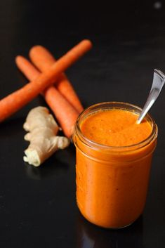 Carrot Ginger Dressing Good Cheap Eats - This Carrot Ginger Dressing Is A Healthy And Delicious Way To Top Cooked Meats, Salads Or Rice Bowls. Its Full Of Great Asian-Inspired Flavors And Tastes Pretty Amazing. Carrot Ginger Dressing, Carrot And Ginger, Easy Sauce Recipe, Sauce Recipes, Easy Recipes, Healthy Recipes, Healthy Salads, Diabetic Recipes, Chicken Recipes