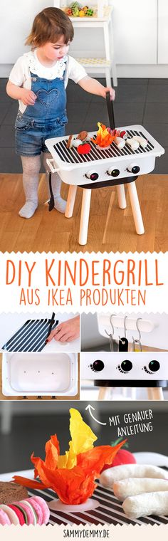 Kindergrill DIY