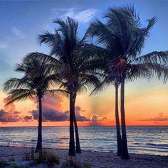 Gorgeous #SunriseWeather from Fort Lauderdale, FL! #ItsAmazingOutThere Photo Credit: @ftlauderdalesun