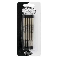 Ballpoint Pen Refills, 5/Pack