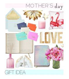 """""""#mothersdaygiftguide"""" by hellodollface ❤ liked on Polyvore featuring John Lewis, Kate Spade, GiGi New York, LAFCO, PBteen, Mara-Mi and mothersdaygiftguide"""