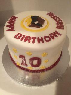 42 Best Washington Redskins Cakes Amp Parties Images