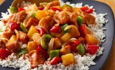 Slow-Cooker Sweet and Sour Chicken recipe from Betty Crocker >Read Slow Cooker Recipes, Crockpot Recipes, Chicken Recipes, Cooking Recipes, Healthy Recipes, Betty Crocker, Sweet Sour Chicken, Sweat And Sour Chicken, Asian Recipes