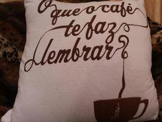 Almofada exclusiva de  Camiseta do museu do café