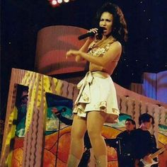 Selena in action