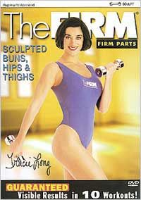Retro Workout Pick #4 is from The Firm, Sculpted, Buns, Hips, & Thighs, 1996 release of 40 minutes worth of toning floorwork.