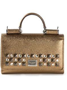 957a55a009 Dolce   Gabbana Small  Miss Sicily  Shoulder Bag - Farfetch