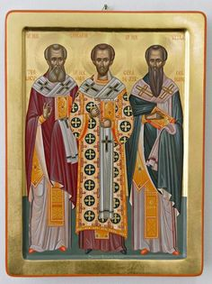 Byzantine Icons, Byzantine Art, Church Icon, John Chrysostom, Paint Icon, Religious Paintings, Image Painting, Religious Images, I Icon