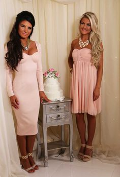 Go chic in this number. Get yours here: http://www.pinkboutique.co.uk/collections/best-dressed-guest/wyatt-peach-plaited-swing-dress.html