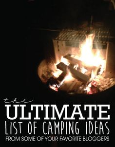 If you love camping