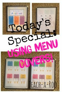 Teach-A-Roo: Restaurant Supplies in the Classroom- My Bright Idea! See lots of different restaurant supply items being used in the classroom. Creative Teaching, Teaching Tips, Teaching Math, Teaching Music, School Classroom, Classroom Themes, Classroom Supplies, Classroom Design, Classroom Resources