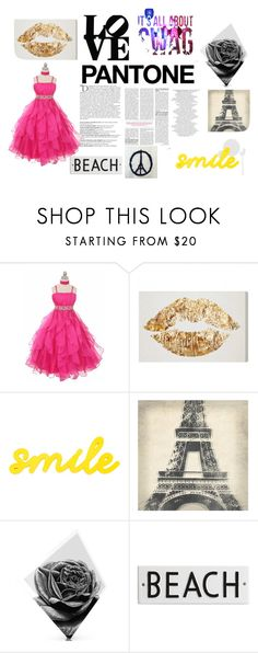 """""""Untitled #127"""" by arianagrande-765 on Polyvore featuring beauty, Balmain, Leftbank Art, Maxwell Dickson and Rosanna"""