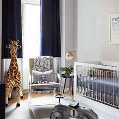 Acrylic In The Nursery Heck Yes We Are Loving This Clean Modern Feel