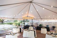 Outdoor Cocktail Hour Decor. Lighting from Empire Lighting. Dresser Mansion Wedding. Tulsa Wedding