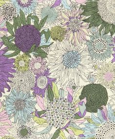 This print was designed by our in-house studio for spring summer 2005 as part of the sunspot group. It has been rescaled and recoloured for the Classic Tana range of 2010.