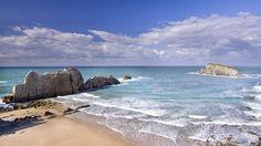 Playas norte España Playa de la Arnia, Cantabria