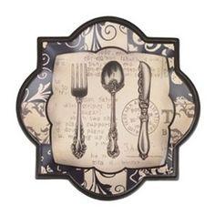 Fancy Flatware Decorative Plate | Kirkland's