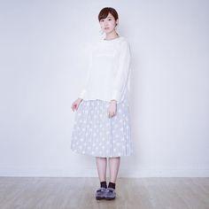 POUDOUDOU ---------------------------- blouse 5200tax skirt 5200tax  #poudoudou#pdd16aw