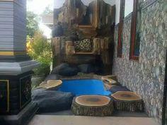 Jasa tukang kolam tebing di Sidoarjo | Jasa tukang dekorasi kolam tebing Sidoarjo