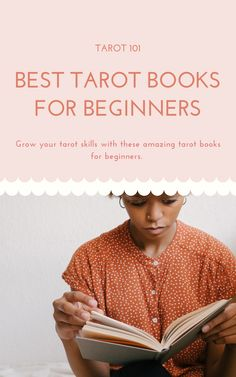 Growing and developing your tarot skills often means reading anything and everything you can get your hands on. This, however, can be a bit overwhelming. Especially when you are a total newbie in the world of tarot, as there are so many tarot books to choose from. Where to start with so many options available, how do you know what to choose and what resonated with you? Here is a list containing the best tarot books for beginners.   #tarotbooks #learntarot #tarot #tarotforbeginners Physic Reading, Tarot Cards For Beginners, Oracle Reading, Astrology Numerology, Tarot Card Meanings, Card Book, Tarot Readers, Tarot Spreads, Affirmation Quotes