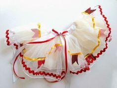roupa para festa junina - tutorial da saia tutu