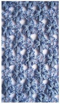 Wonderful #crochet #stitch #patterns at this Portuguese site. Click on pattern to get the chart. This one is so flowery for a lovely lacy scarf, shawl or blouse. I imagine it in variegated sock yarn.