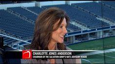 Charlotte Jones Anderson talks Salvation Army
