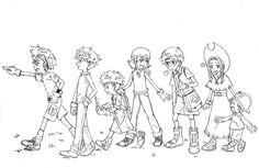 Digimon adventure by nayru-xb7 on DeviantArt