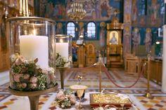 "Wedding Konstantinos & Eliza  invitation-favors-decoration-boboniera-gold—athens-Greece-flowers-centerpiece-church-wedding bouquet ""Nikolas Ker"". Λαμπάδες γάμου"