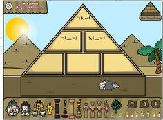 RECURSOS DE EDUCACION INFANTIL: PROYECTO EGIPTO