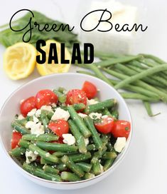 Need a healthy, easy side for dinner? This Green Bean Salad recipe is a great go to!