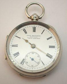 Thuret a paris verge pocket watch circa 1700 antique pocket c1900 antique solid silver open face pocket watch pain brothers true briton aloadofball Choice Image