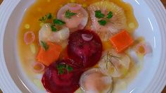 Receta de Ravioli de verduras asadas