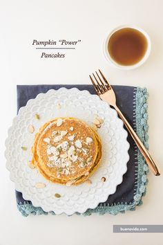 Pumpkin Power Pancakes - Bueno Vida