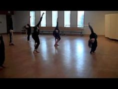 ▶ Steichen Jazz Class Warm-Up - YouTube (also could work for a modern or contemporary class)