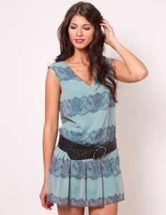 I love this dress, especially the lace and color.......adorable!