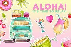 Aloha!!! Time to Relax By Spasibenko Art