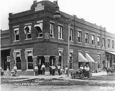 Oklahoma State Bank at Hugo,OK about 1915