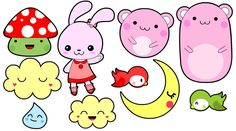 Kawaii character design - happymiaow