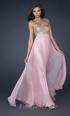 Fashion Sleeveless Natural Strapless A-Line Chiffon Prom Dress Prom Dresses Prom Dress 2014, Pink Prom Dresses, Homecoming Dresses, Strapless Dress Formal, Evening Dresses, Formal Dresses, Dress Long, Long Dresses, Dresses Dresses