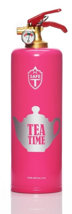 Fight the Tea Time- Fire extinguisher