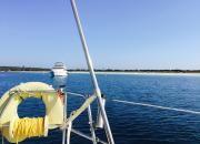 """Despertar en Formentera, ruta velero """"De Lucía"""", chárter náutico todo incluido Ibiza-Formentera en www.entreibizayformentera.es  #ibiza #formentera #navegar #charternautico #alquilerbarcos #barcos #veleros"""