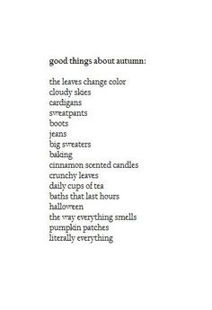 Oh Autumn i miss you! And your sibling Winter!! :)