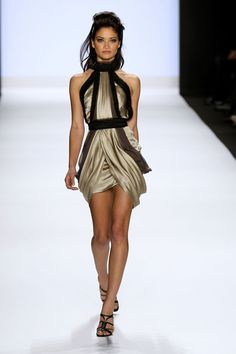 Runway model | model walks the runway at the Project Runway Fall 2009 fashion show ...