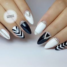 + 66 Trendy Long acrylic Nails Art 2018