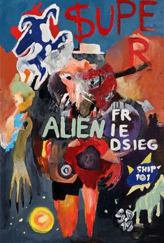 'Super Alien ' by Gero Doll on artflakes.com as poster or art print $16.42