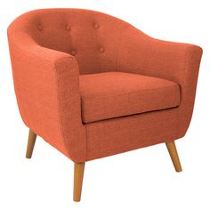 Rockwall Accent Chair - Orange